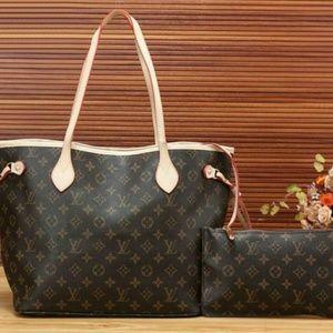 Louis Vuitton Purse And Wallet Set